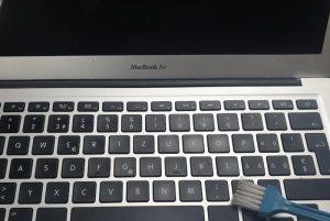 nettoyage poussière MacBook